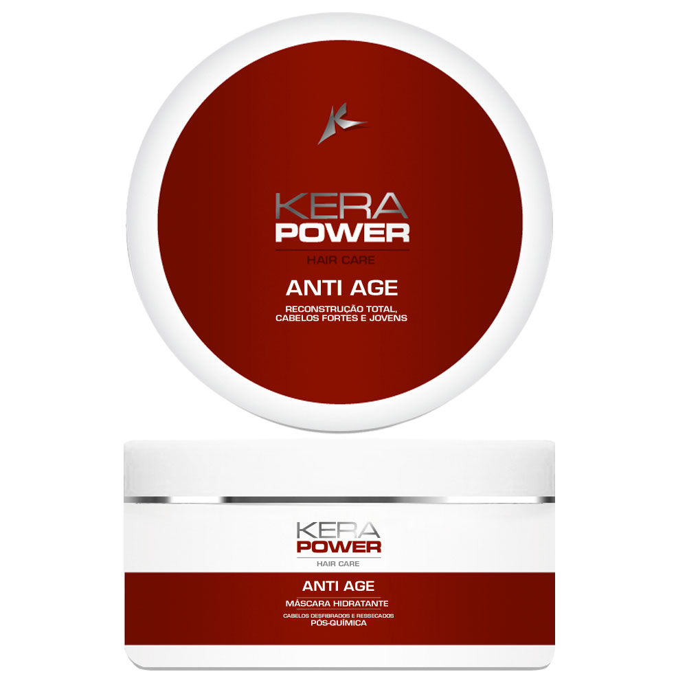 Máscara Hidratante Kerapower Anti Age