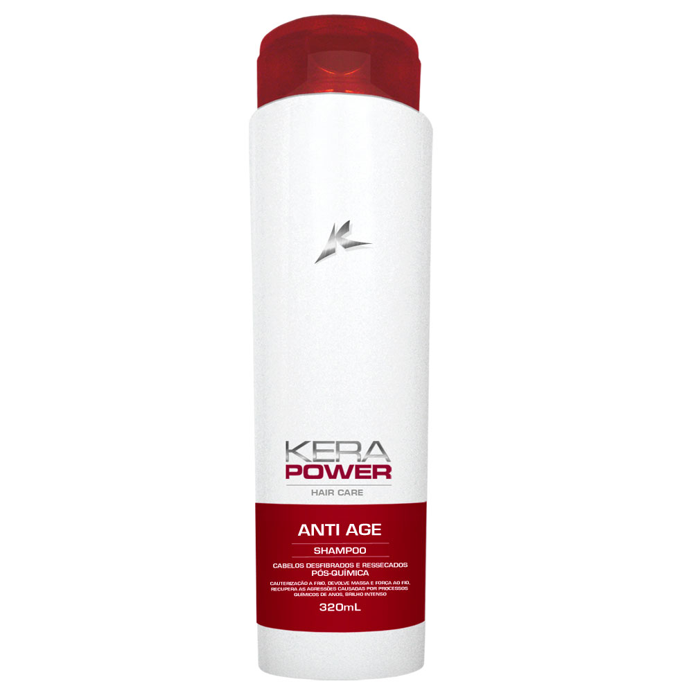 Shampoo Kerapower Anti Age