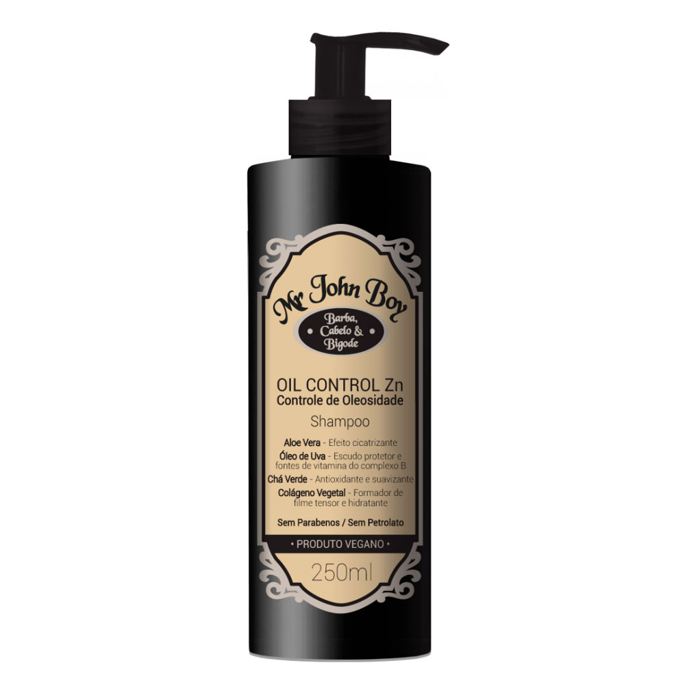Mr John Shampoo Oil Control Zn